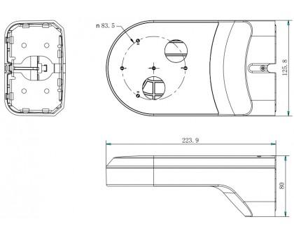 Настенный кронштейн Hikvision DS-1294ZJ-PT