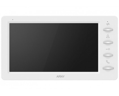 Видеодомофон ARNY AVD-709 1MPX Graphite