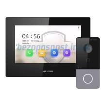 Комплект IP домофона Hikvision DS-KH6320-LE1+DS-KV6103-PE1(B)