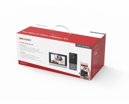 Комплект IP видеодомофона Hikvision DS-KIS603-P