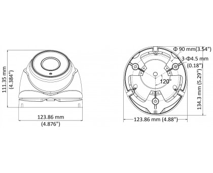 2 Мп Turbo HD видеокамера Hikvision DS-2CE56D8T-IT3ZF (2,7-13,5mm)