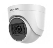 2Мп Turbo HD видеокамера с встроенным микрофоном Hikvision DS-2CE76D0T-ITPFS (2.8 ММ)