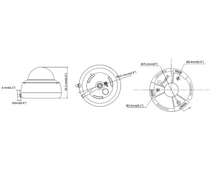 4 Мп IP Wi-Fi камера видеонаблюдения Hikvision DS-2CD2141G1-IDW1 (2.8 мм)