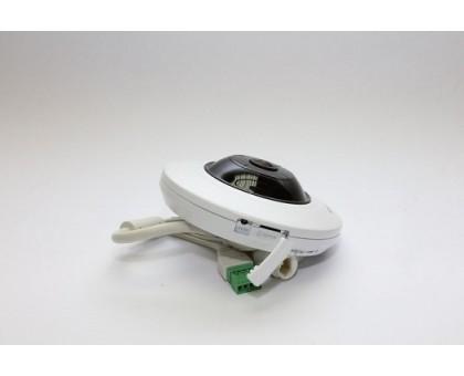 5Мп Fisheye IP видеокамера с функциями IVS и детектором лиц Hikvision DS-2CD2955FWD-IS (1.05 ММ)