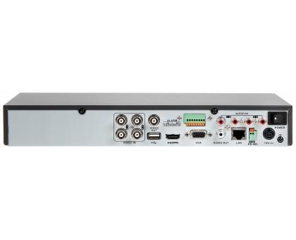 4-канальный Turbo HD видеорегистратор Hikvision DS-7204HQHI-K1/P/4audio (PoC)