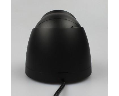 2Mп черная IP видеокамера с встроенным микрофоном Dahua DH-IPC-HDW2230TP-AS-BE (2.8ММ)