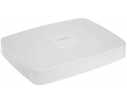 16-канальный Smart 4K NVR c PoE коммутатором на 8 портов Dahua DH-NVR4116-8P-4KS2