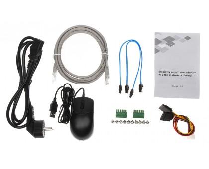 16-канальный 4K NVR c PoE коммутатором на 16 портов Dahua DHI-NVR4216-16P-4KS2/L