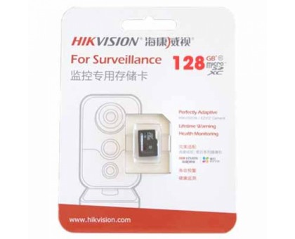 Карта памяти micro SD Hikvision HS-TF-L2I/128G