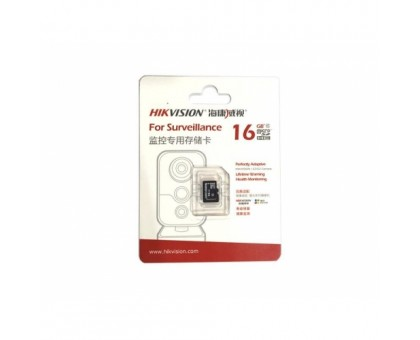 Карта памяти micro SD Hikvision HS-TF-L2I /16G
