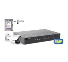 5MP АHD комплект для видеонаблюдения BALTER KIT 5MP 1Bullet