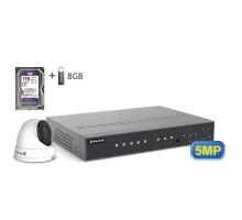5MP АHD комплект для видеонаблюдения BALTER KIT 5MP 1Dome