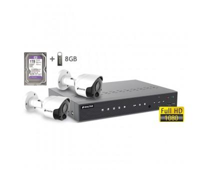 2MP АHD комплект для видеонаблюдения BALTER KIT 2MP 2Bullet