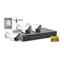 2MP АHD комплект для видеонаблюдения BALTER KIT 2MP 3Bullet