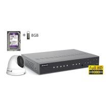 2MP АHD комплект для видеонаблюдения BALTER KIT 2MP 1Dome
