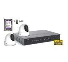 2MP АHD комплект для видеонаблюдения BALTER KIT 2MP 2Dome