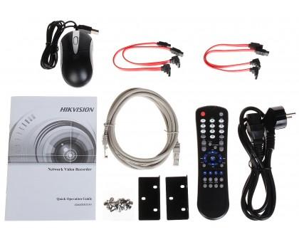 32-канальный 4K сетевой видеорегистратор Hikvision DS-7732NI-I4/16P (B)