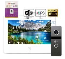 Комплект видеодомофона Neolight NeoKIT HD PRO WF Graphite