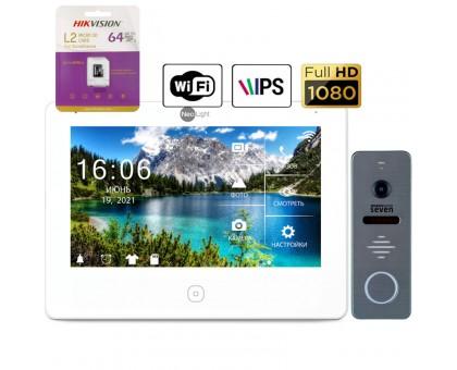 Комплект Full HD видеодомофона NeoLight Alpha HD WF (grey,silver,black)