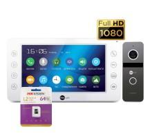 Комплект видеодомофона NeoLight Kappa+ HD и NeoLight Solo FHD (graphite,silver)