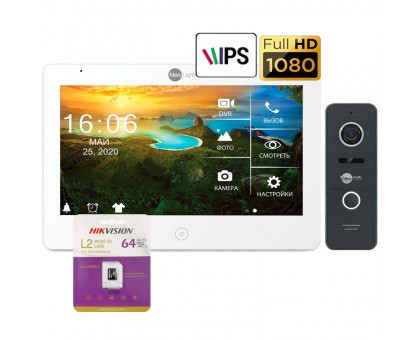 Комплект видеодомофона NeoLight Mezzo HD и NeoLight Prime FHD (bronze,silver,black)
