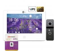 Комплект видеодомофона NeoLight Alpha HD и Solo FHD (Graphite/Silver)