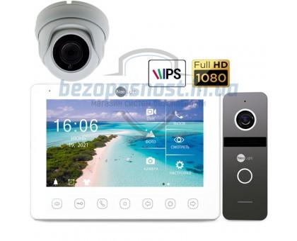 Комплект видеодомофона Neolight Omega+HD / Neolight Solo / и камера