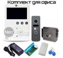 Комплект видеодомофона для офиса Tetta