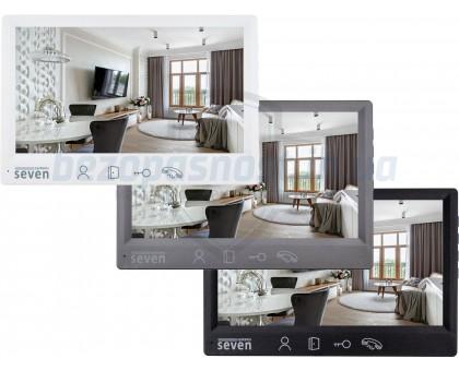 Комплект Full HD видеодомофона Seven DP–7571 FHD (bronze,silver,black)