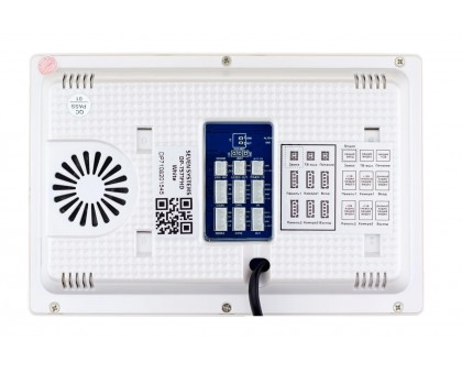 Цветной видеодомофон SEVEN DP–7571 FHD white