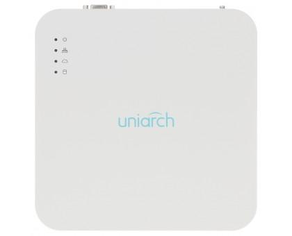 4-канальный IP видеорегистратор c PoE Uniarch NVR-104LS-P4