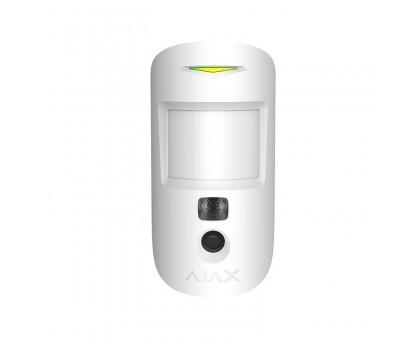 Беспроводной датчик движения с камерой Ajax MotionCam белый